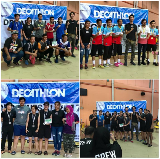 Decathlon Tournament at Sports Planet Kota Damansara