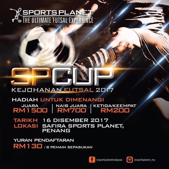 Kejohanan Futsal Sports Planet Cup 2017
