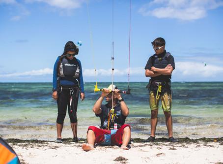 Les 5 meilleures destinations de kitesurf pour débutants !