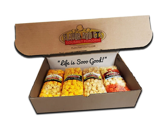 (4 Medium) Flavor Addicts Gift Box