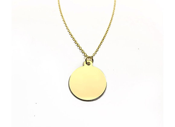 necklace gold filled 14 carats 14K smart casual jewelry