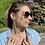 Thumbnail: Collier RAINBOW en perle d'eau douce et plaqué or