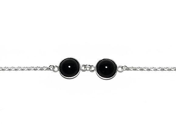 bracelet onyx MARIE