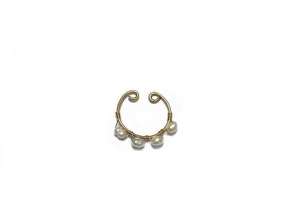 bijou d'oreille MAYA perle