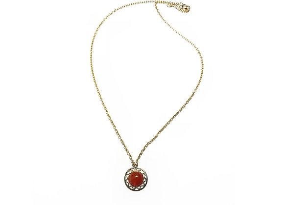 necklace LILI carnelian