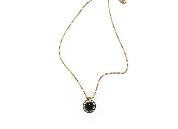 necklace LILI onyx