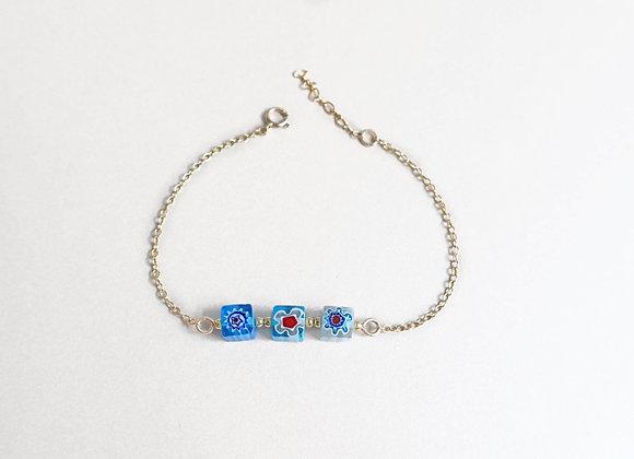 bracelet perle Millefiori CAMILLE