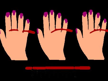 Comment connaitre votre taille de doigt pour bien choisir vos bagues ?