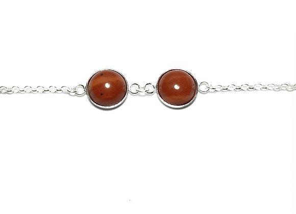 bracelet MARIE red jasper