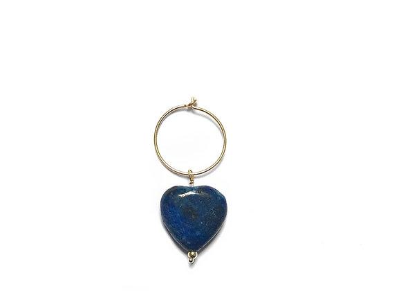 boucle d'oreille lapis lazuli Maya