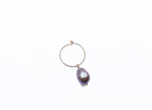 mini créole perle d'eau douce beige