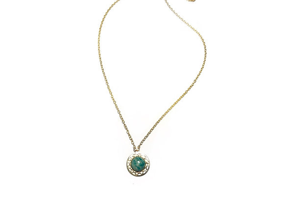 necklace LILI amazonite