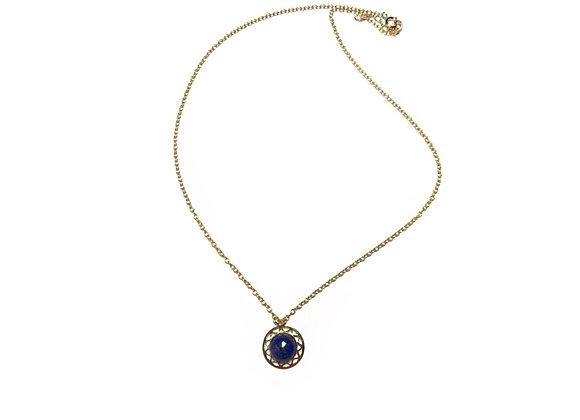 collier lapis lazuli LILI