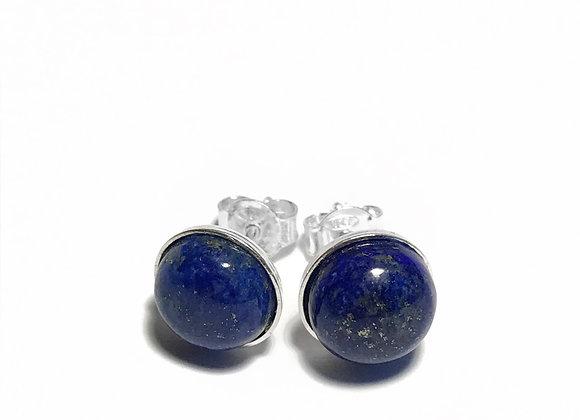 earrings MARIE lapis lazuli