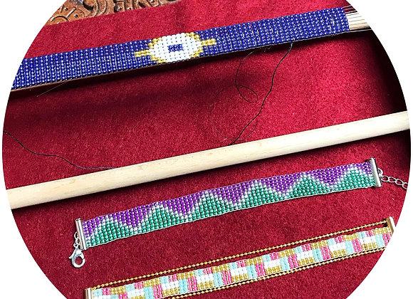 Workshop : Make a beaded loom bracelet