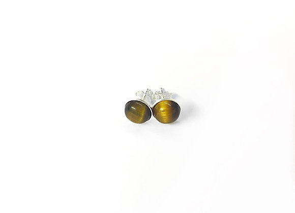 earrings MARIE tiger's eye