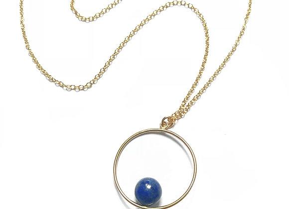 collier lapis lazuli Emilie