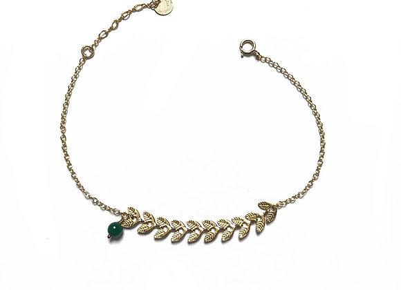 bracelet malachite CATHERINE