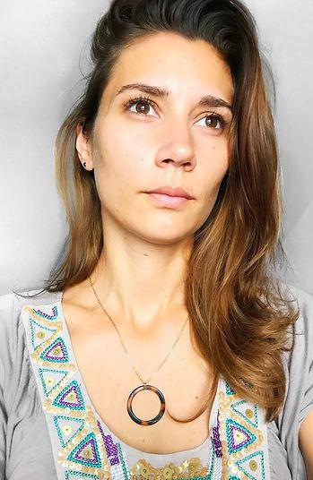 collier necklace sacha maxi leopard brow