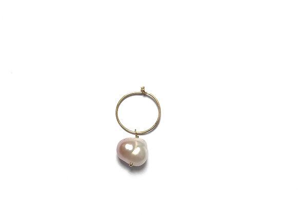 boucles d'oreilles perle Maya