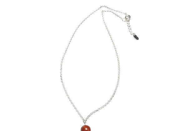 necklace MARIE red jasper