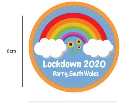 Lockdown Badge and Certificate