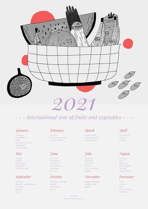 2021 Seasonal Produce Calendar