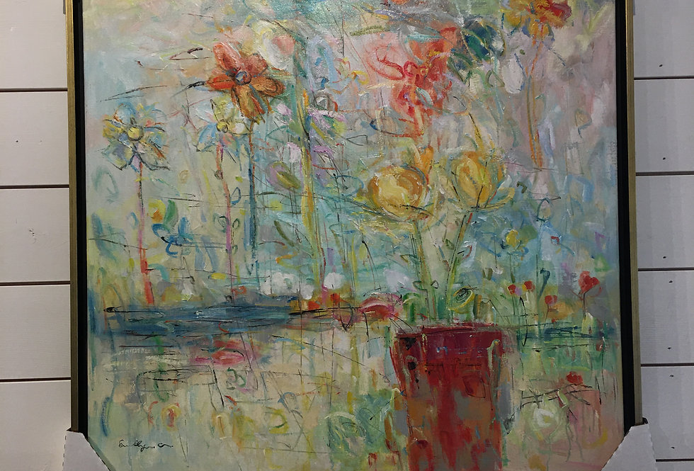 Floral Still Life Original by C. Emily
