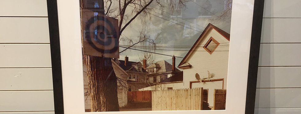 Framed Vintage Photo
