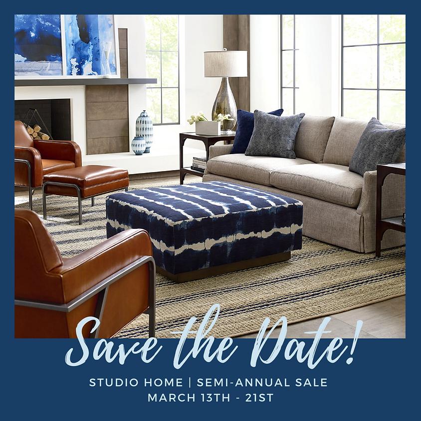 Studio Home | Spring Semi-Annual Sale