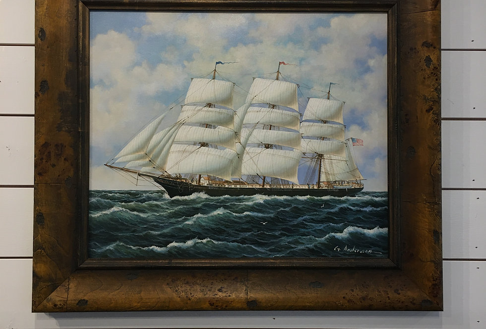 Original Oil by G. Anderson