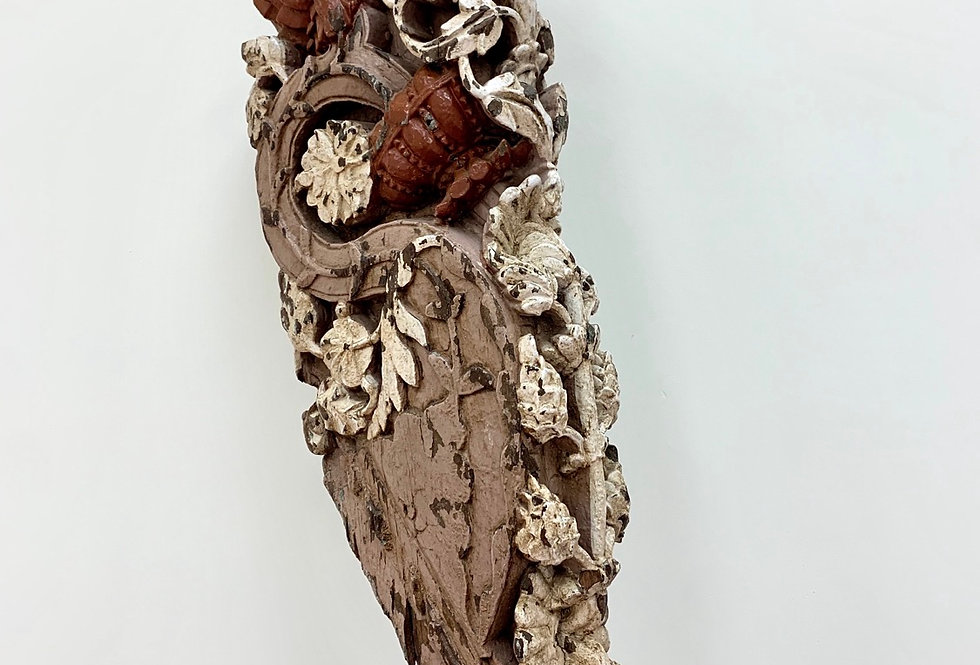 Carved Wood Sculpture