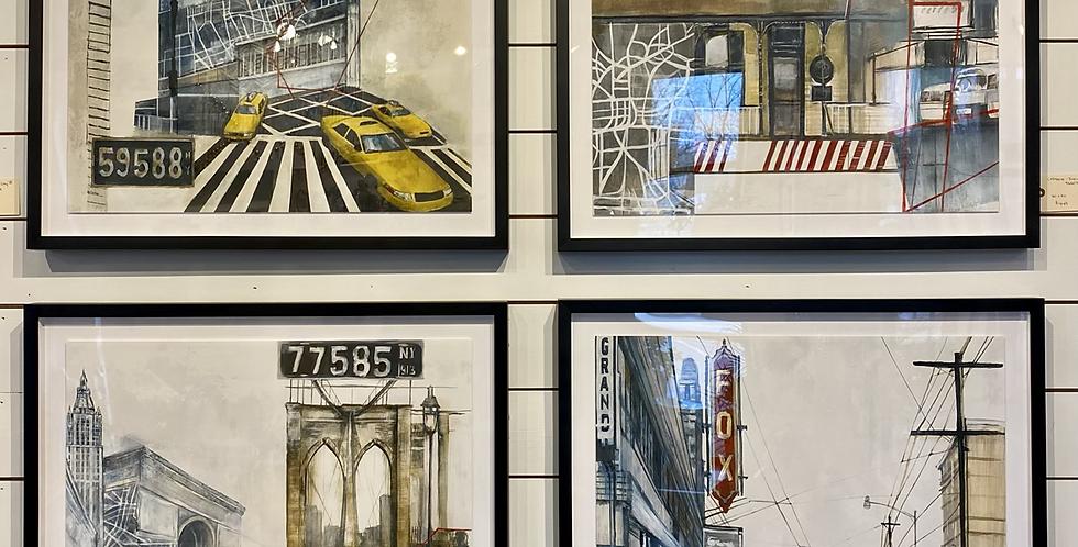 Left bank Art Inside Your City I