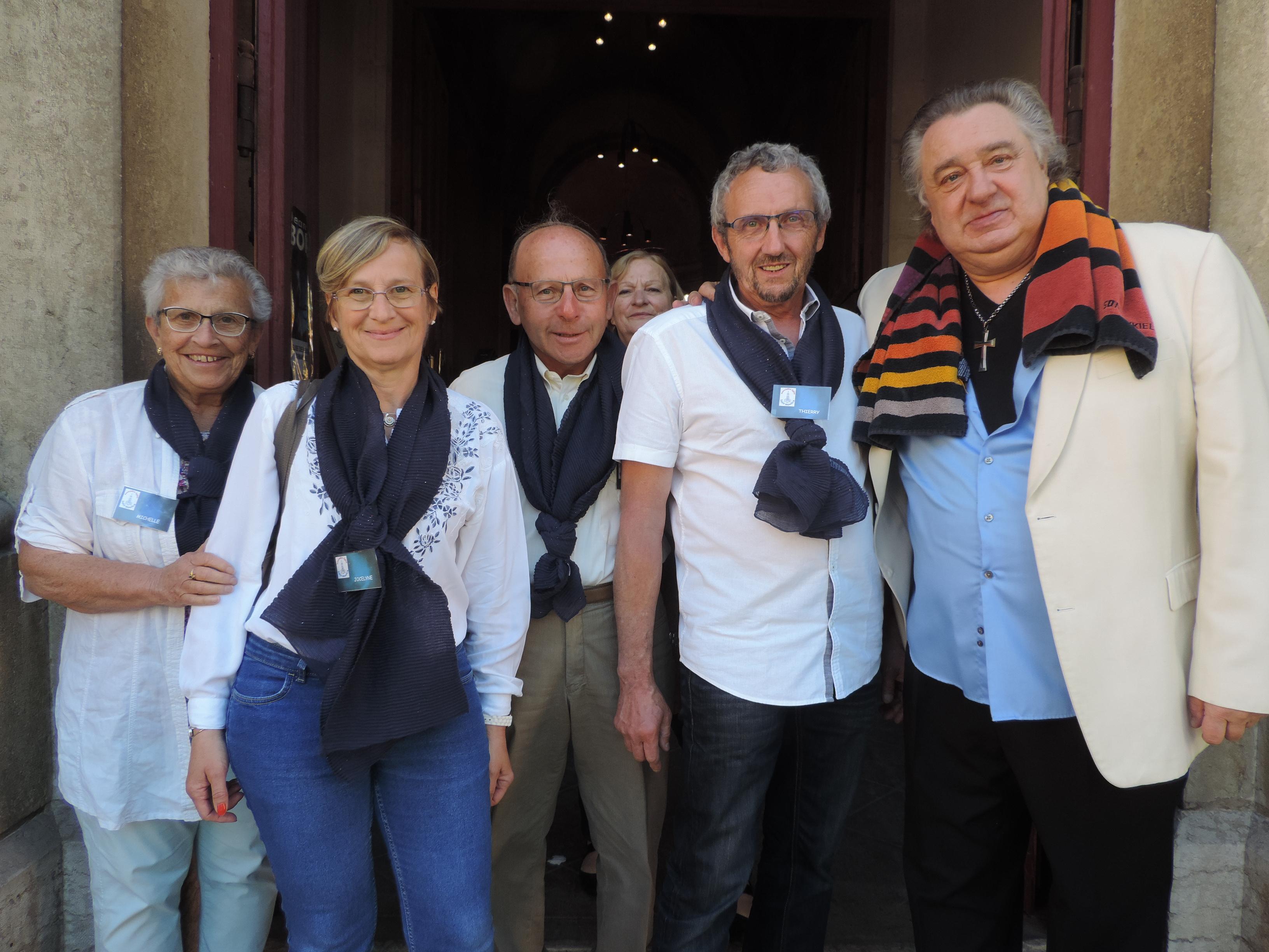 Jean Claude Borelly et équipe