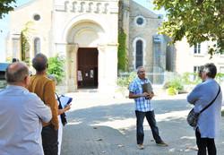visite église et crypte