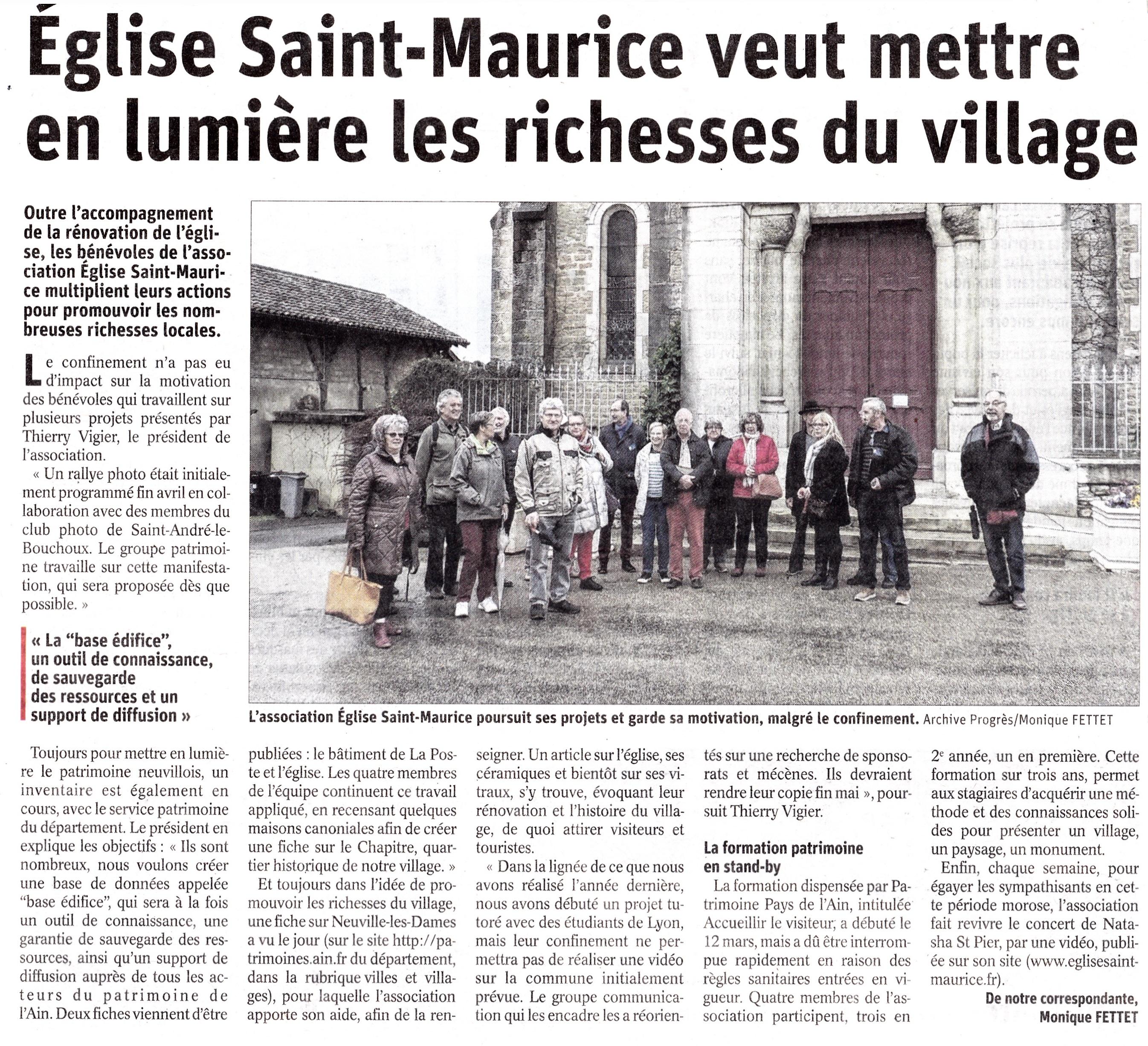 article_du_progrès_du_6_mai_2020