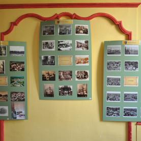 exposition de cartes postales prêtée par Robert Eudo.