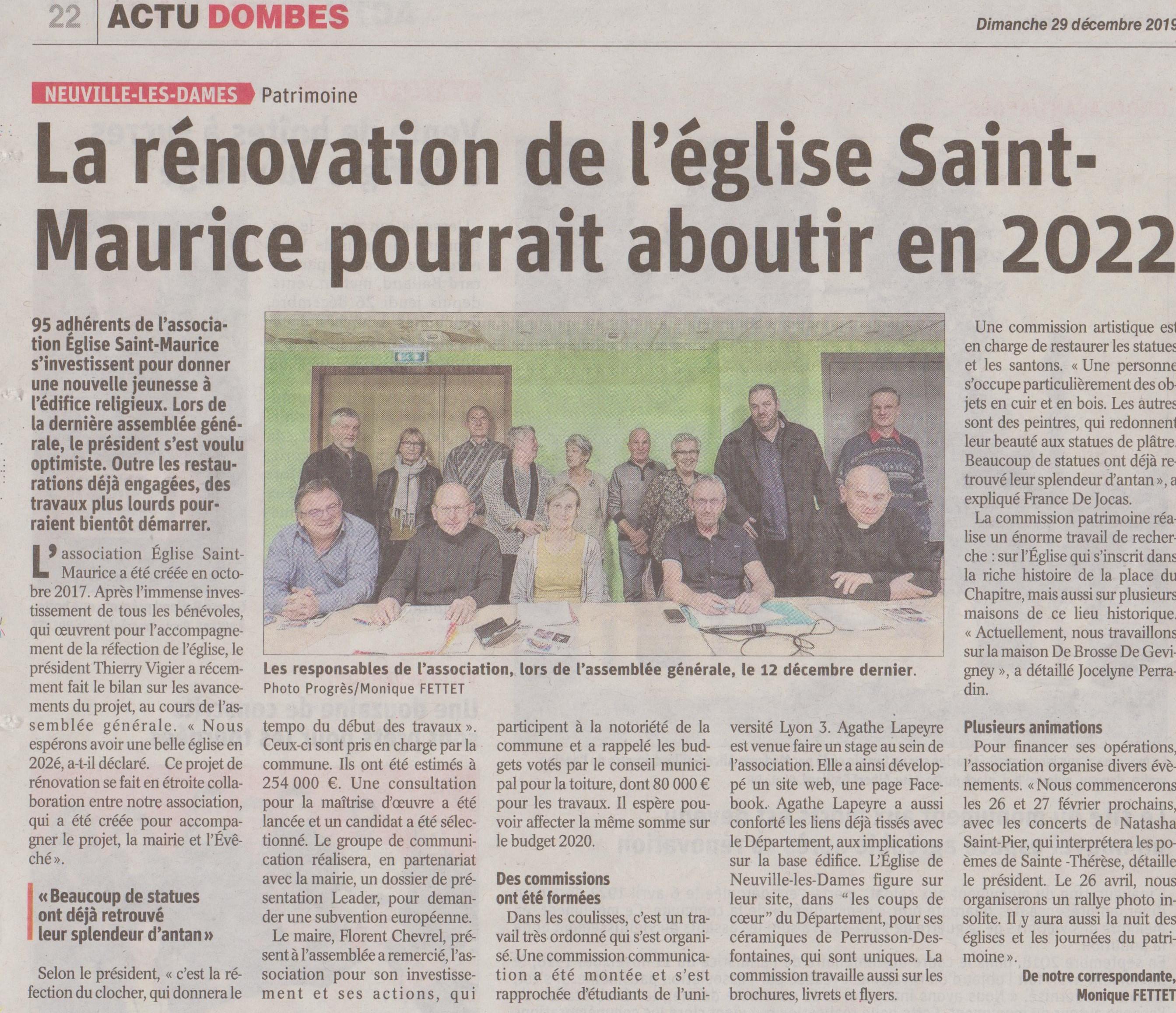 Le_Progrès_29_Décembre_2019