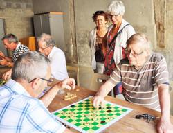initiation au jeu de dames