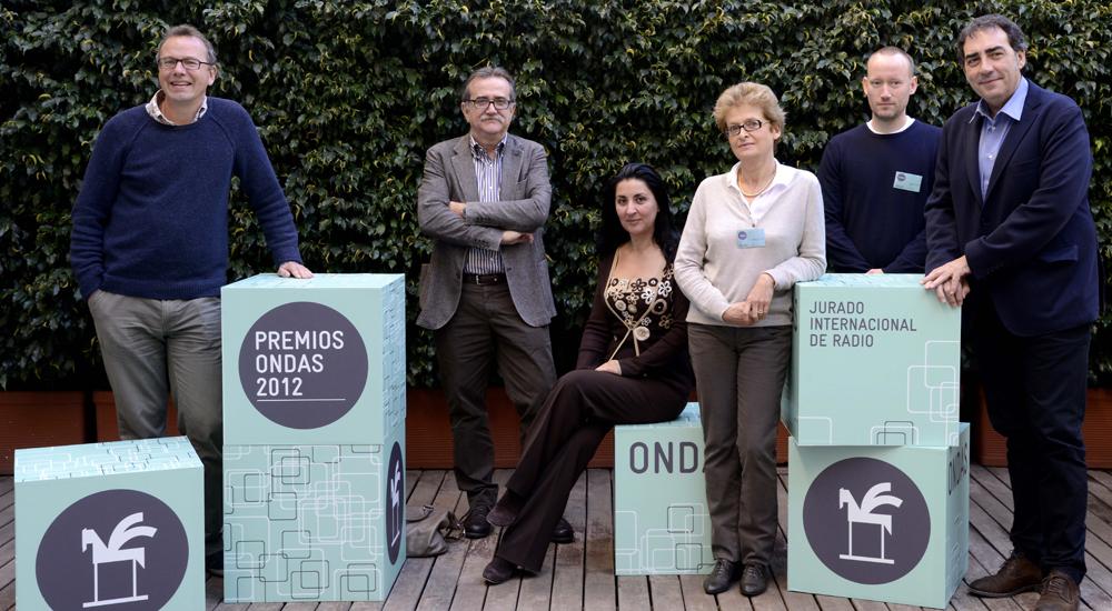 En el Jurado Internacional del Premio Ondas 2012