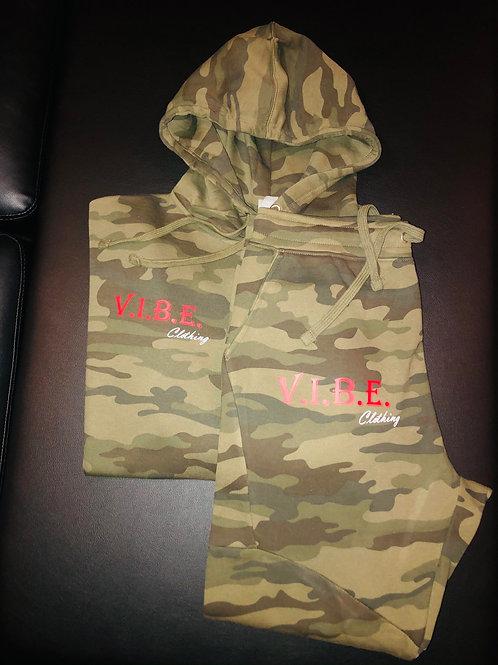 Army Fatigue O.G. V.I.B.E. Jogger Suit