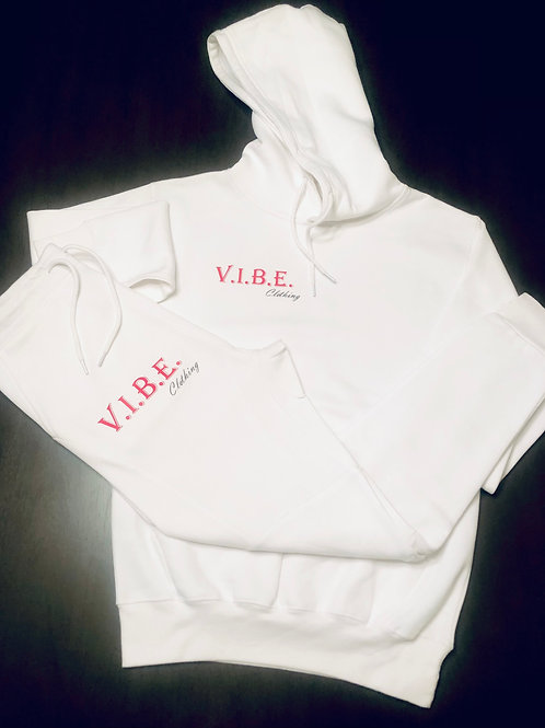 WHITE OG V.I.B.E. Jogger Suit