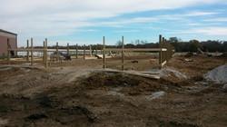 Start of the barn