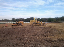 Site prep for new buidling