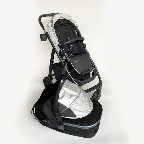 UPPAbaby CRUZ Stroller and Bassinet (Black)