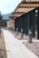 Photo Espace séminaire et vestiges de tour à canons