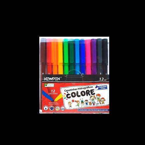 Colore - Canetinhas Hidrocor ponta cônica
