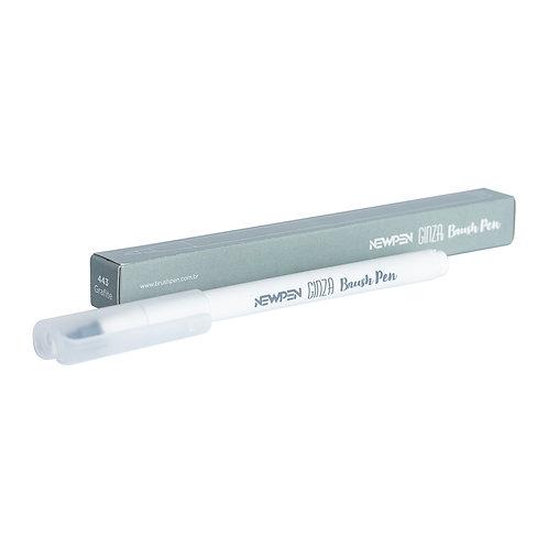 Ginza Brush Pen - 1un Cinza Grafite