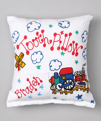 Train Tooth Pillow