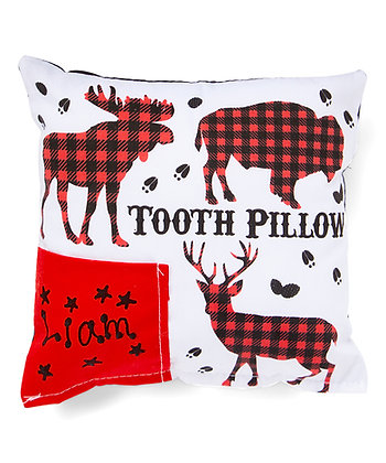 Buffalo Plaid Tooth Pillow